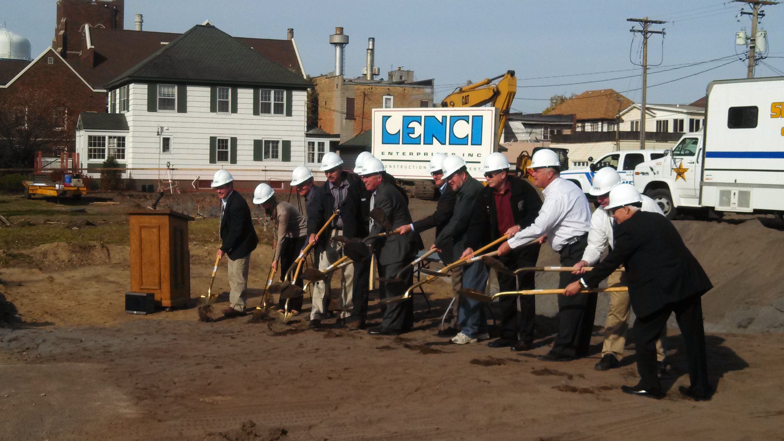 St Louis County Motor Pool Construction Underway Dsgw
