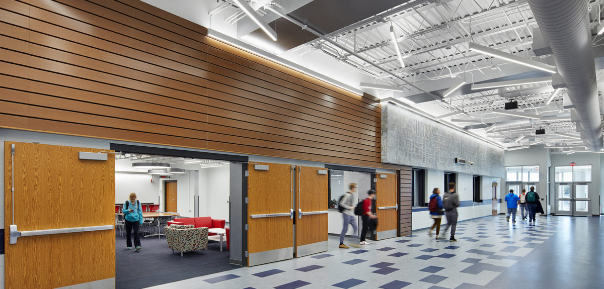 Flexible spaces in education design dsgw architects - Interior design schools in texas ...