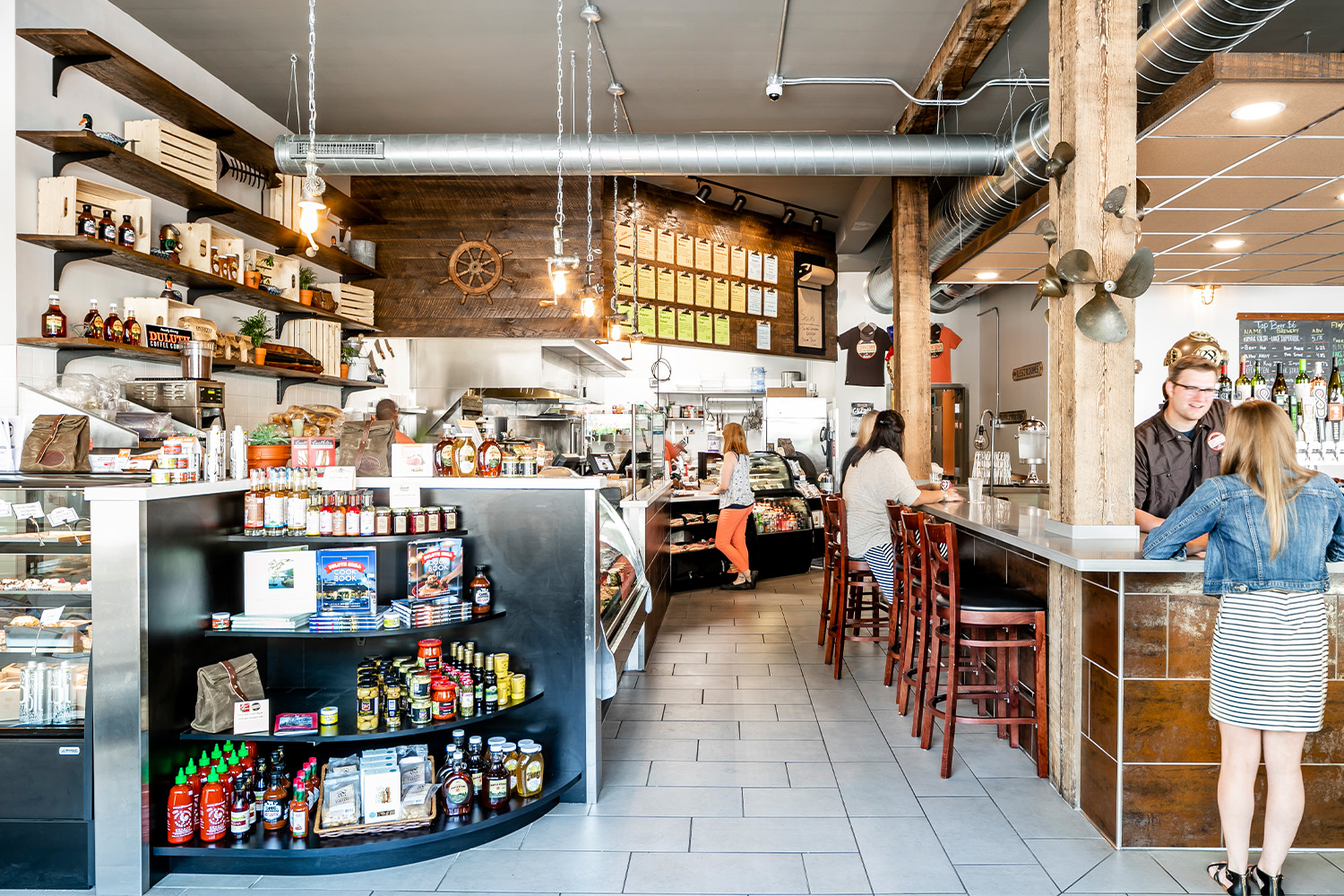 Corktown Deli And Brews Dsgw Architects